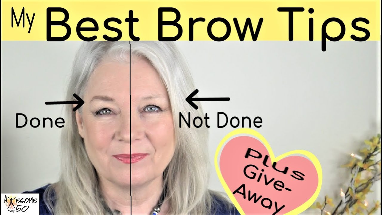 My Best Brows Makeup, Giveaway, Tips on Shaping, Filling, Natural Look,  Women over 8, Part 8 of 8