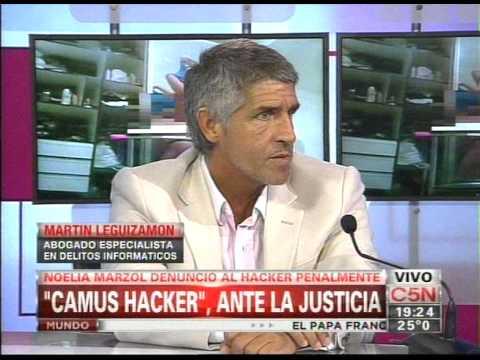 C5N - EL DIARIO: CAMUS HACKER, ANTE LA JUSTICIA