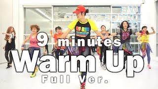 9 miutes Warm Up / Diet / Cardio / Routine / Home Training / 홈 트레이닝 / Wook's Zumba® Story / Wook