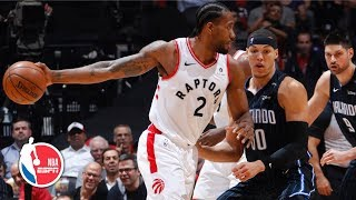 Kawhi Leonard drops 37 points in Raptors' Game 2 bounce-back win vs. Magic | NBA Highlights