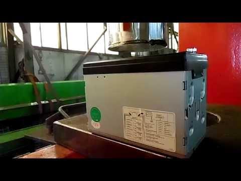 China MP5 Radio 7012B vs. Hydraulic Press