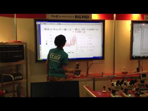 Fourier product demonstration@Tokyo New Education Expo 2012.MOV