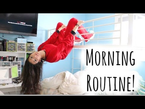 Morning Routine For School!  Youtube
