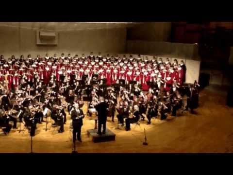 William Walton - Belshazzar's Feast, performed at Luther College, May 18, 2013