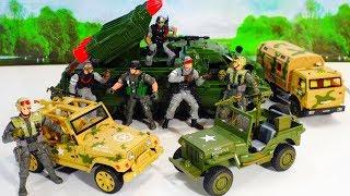 """Модели военных машин - Джипы """"Dream Becomes True"""""""