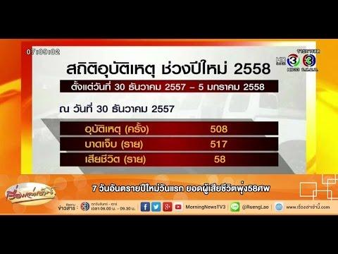 เรื่องเล่าเช้านี้ ดุสิตโพลเผยที่สุดข่าวโดนใจคนไทยปี57 (01 ม.ค.58)