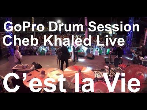 Damien Schmitt - GoPro Live - Cheb Khaled - C'est la vie