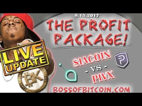 ⚡ LIVE UPDATE⚡ SIA Vs PIVX 💰 💰 How To Earn Free Bitcoin   Best Crypto Trading Technical Analysis
