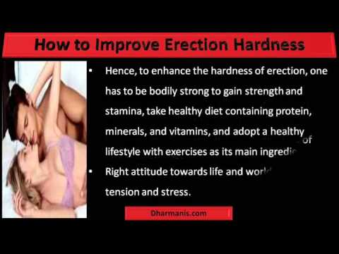 improve erection naturally