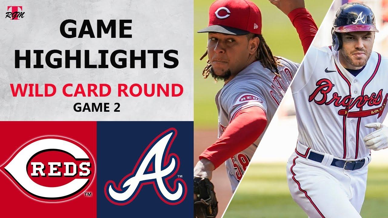 Cincinnati Reds vs. Atlanta Braves Game 2 Highlights | Wild Card Round (2020)