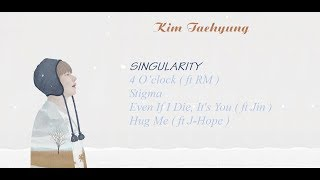 BTS V Kim Taehyung Songs playlist for relaxing studying sleeping