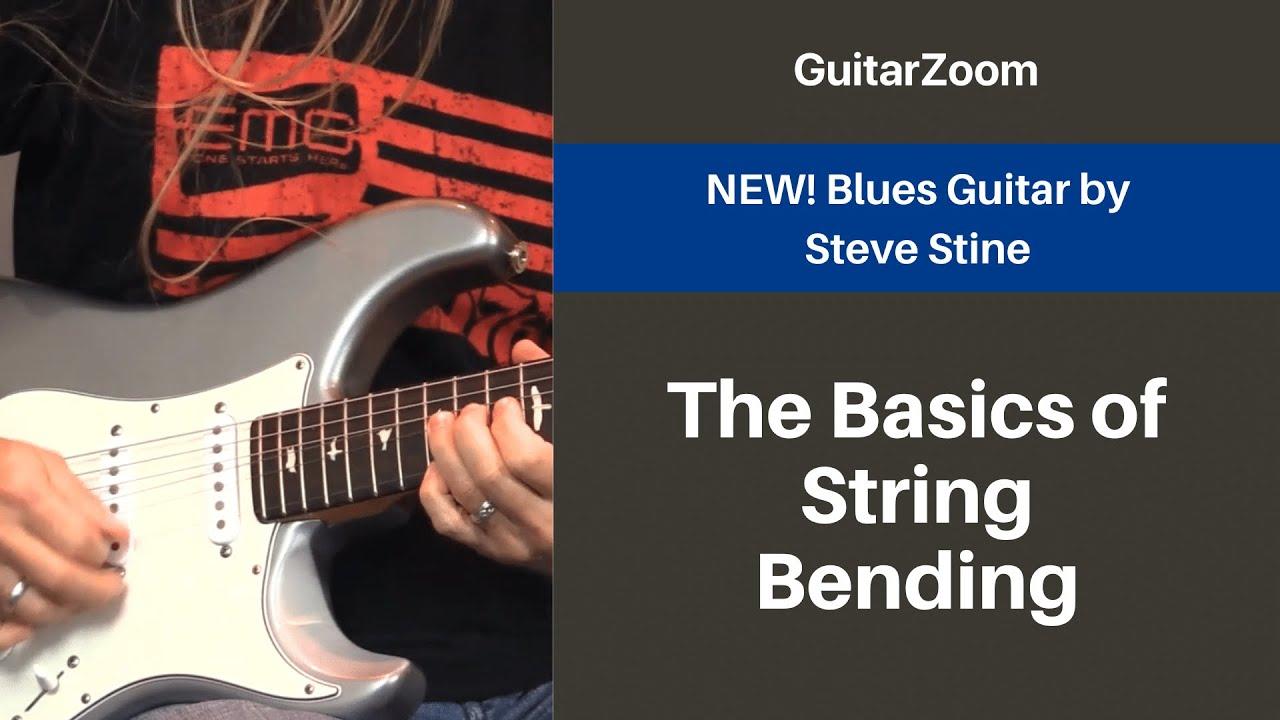 The Basics of String Bending | Blues Guitar Workshop