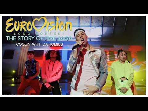 Eurovision Song Contest: The Story of Fire Saga - Coolin' With Da Homies - Live Perfomance