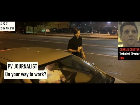 CNN Technical Director Charlie Chester Remains SILENT When Questioned on Current Employment Status