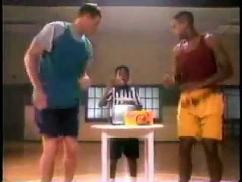 Eggo Waffles Commercial from 1993 with Dan Majerle and BJ Armstrong