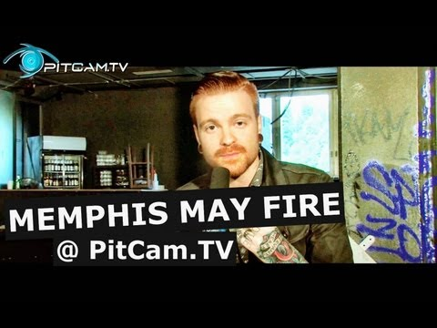 Memphis May Fire - Interview with Matty Mullins // PitCam.TV