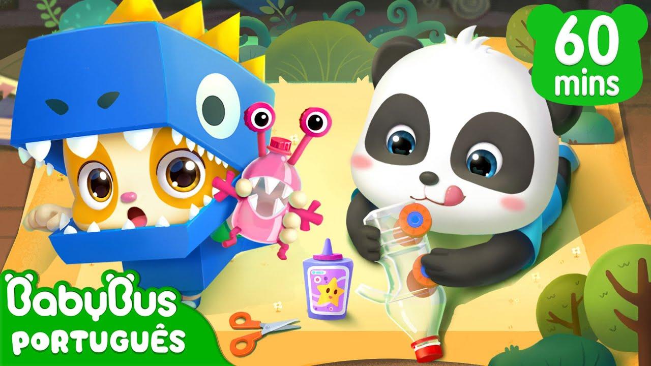 Kiki e Seus Amigos Aprendem como Salvar o Planeta! ♻ | Desenho Infantil | BabyBus Português