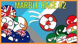 UNPREDICTABLE ENDING! Countryballs Winter Olympics #2 PyeongChang 2018 | Marble Race 200 countries