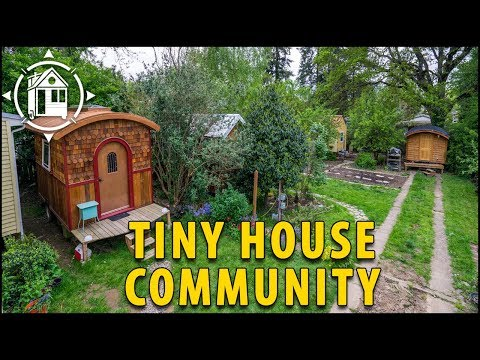 Adorable Tiny House Village Springs Up in Portland Shareable