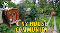 This Tiny House Community is Located in Portland, Oregon!