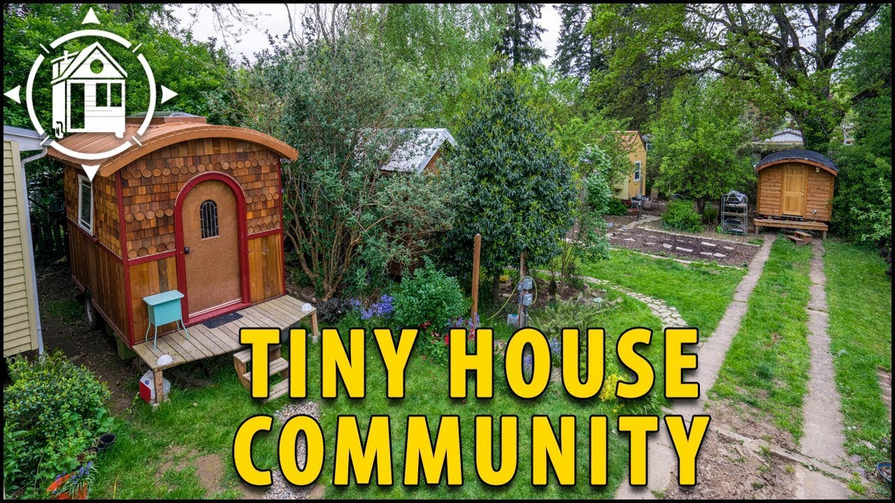 Seven Friends Build Simple Tiny House Community
