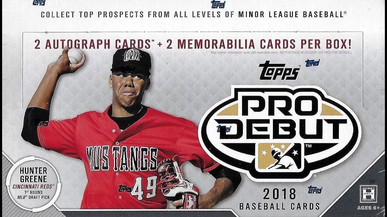Box Busters 2018 Topps Pro Debut