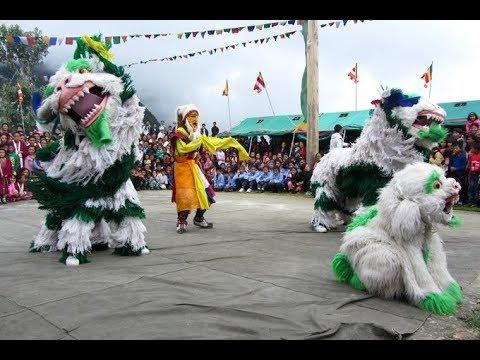 Shimla Tibetan Snow lion dance