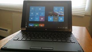 150   10 1 2 in 1 windows 10 w keyboard tablet review
