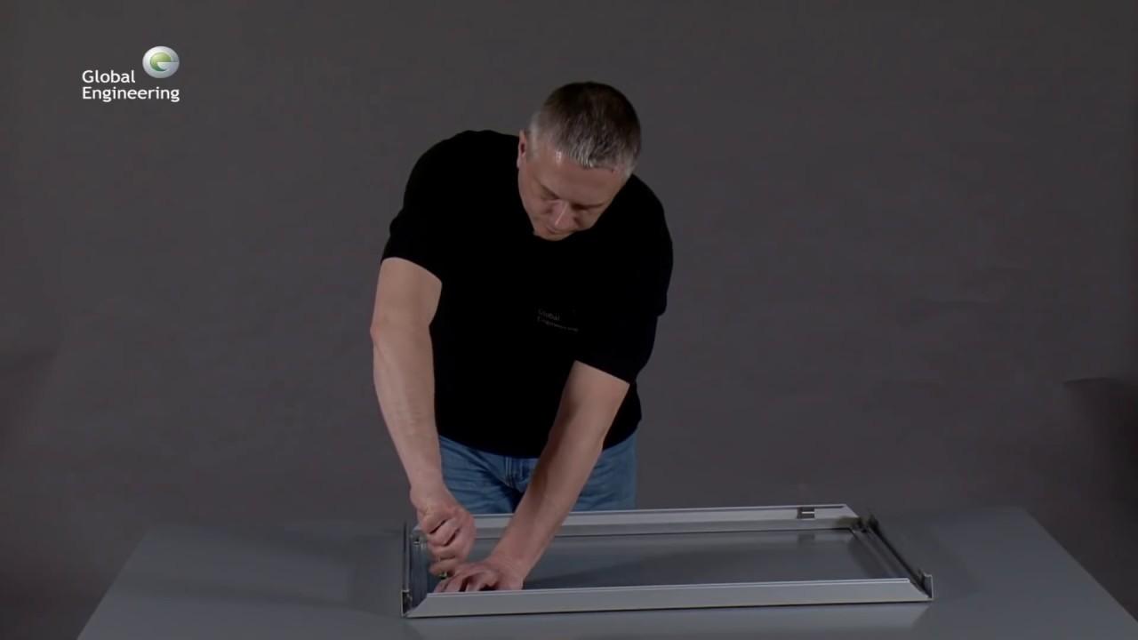 сборке инструкция световых коробов по