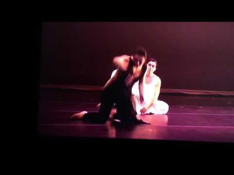 Dance solo at Naugatuck valley community college