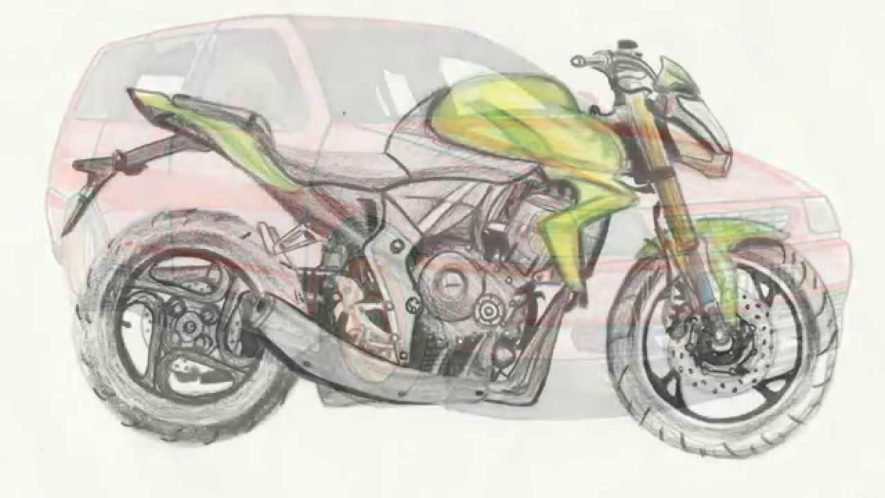 Desenhos De Carros E Motos Youtube