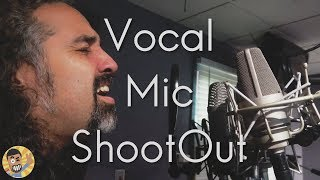 Vocal Microphone ShootOut: Neumann TLM103, TLM49, Rode NT1A and Sennheiser MKH416