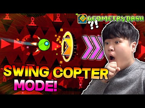 BLOODBATH SWING COPTER MODE! | DORAMI vs SWING COPTER CHALLENGES! | Geometry Dash [2.11]