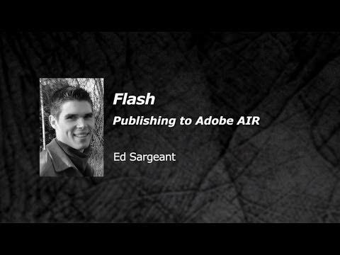 Flash - Publishing to Adobe AIR