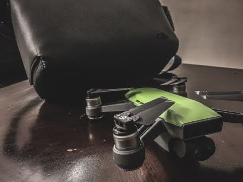 DJI Spark (Fly more combo) | Footage | Review | unboxing ...