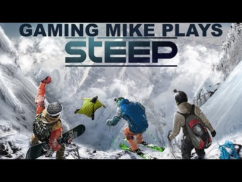 Snow Day! Daily and Extreme Runs - STEEP (Gameplay Broadcast) [ps4 720p60]