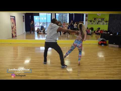 Improviso De Zouk Brasileiro - Leo E Becky (Dark Horse - Violin)