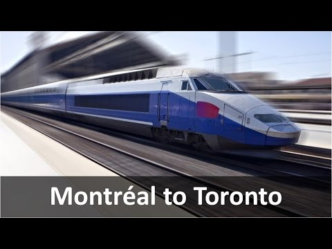canada high speed rail montr al to toronto youtube. Black Bedroom Furniture Sets. Home Design Ideas