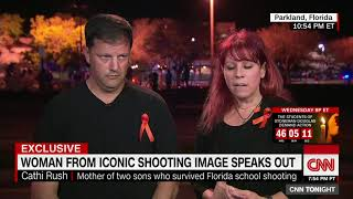 Woman from iconic shooting photo: I hate it