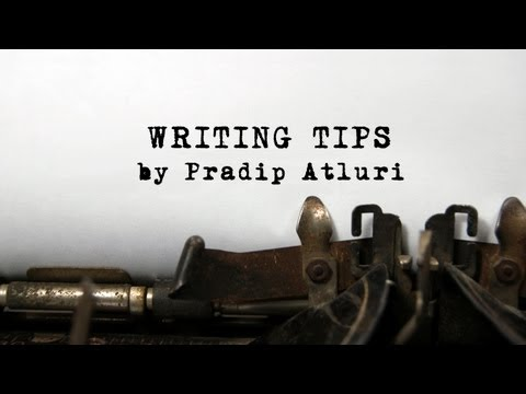 Writing Tips - Developing the initial idea to a basic story