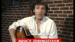 Bruce Springsteen wins International Artist presented by Midge Ure | BRIT Awards 1986
