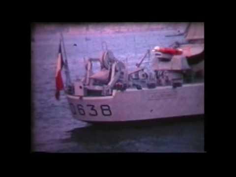 Marine Nationale : service nationale sur un escorteur type E50, années 60