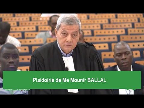 Procès Hissein Habré - Plaidoirie de la Défense - Me Mounir BALLAL (11/02/2016)