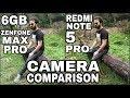 6GB Asus Zenfone Max Pro M1 vs Redmi Note 5 Pro Camera Comparison Zenfone Max Pro 6GB Camera Review