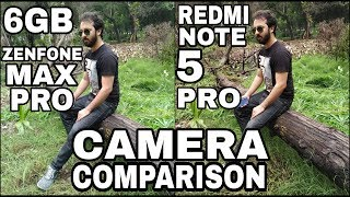 6GB Asus Zenfone Max Pro M1 vs Redmi Note 5 Pro Camera Comparison|Zenfone Max Pro 6GB Camera Review