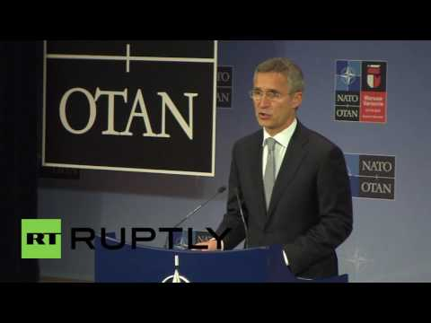 """Belgium: Russia-NATO military lines of communication """"are open"""" - Stoltenberg"""