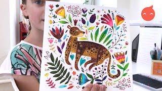 Экзотические животные и птицы из тропиков на уроке Lil School