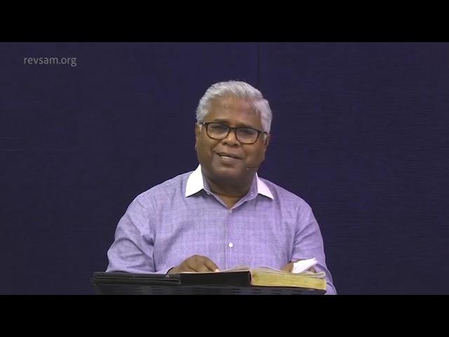AFT Church | Nambikkai TV - 31 JUL 21 (Tamil) | Sam P. Chelladurai
