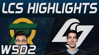 FLY vs CLG Highlights LCS Spring 2020 W5D2 Flyquest vs Counter Logic Gaming LCS Highlights 2020 by O