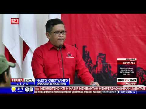 Breaking News: PDIP Resmi Usung Ahok-Djarot